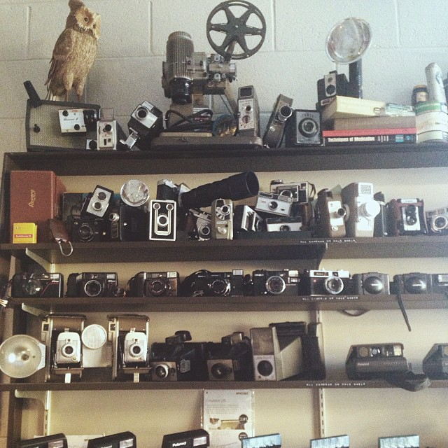 Shaina Sheaff enjoyed the selection over at Denton Camera Exchange. We do, too. Have y'all checked it out yet? Hope on over and take a look at some of their awesome older models sometime.