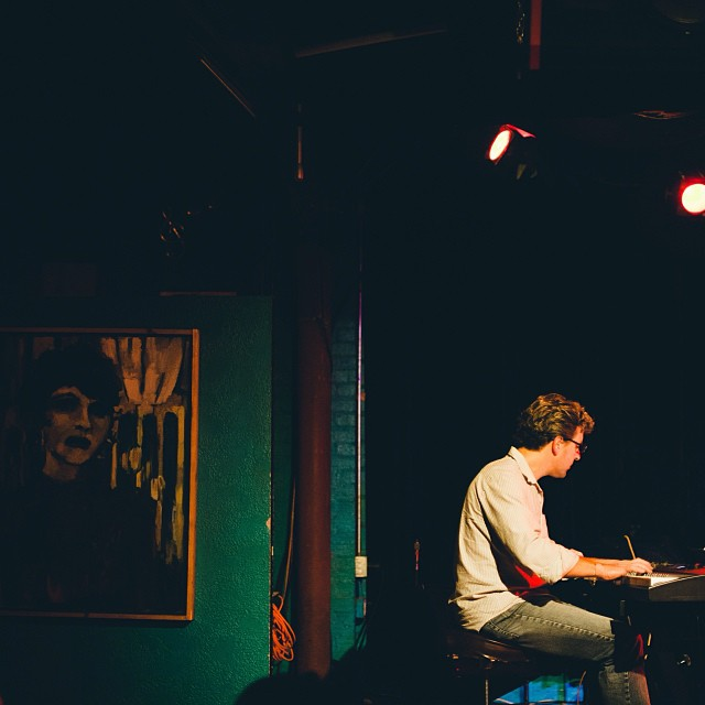 Reader  Shaina Sheaff  really dug UNT jazz professor, Stefan Karlsson's tunes last Thursday at Dan's.