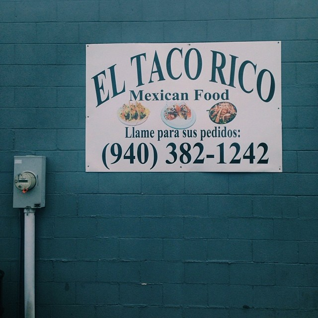 Reader Shaina Sheaff loves tacos almost as much as we do. El Taco Rico is one of our faves. What about you?