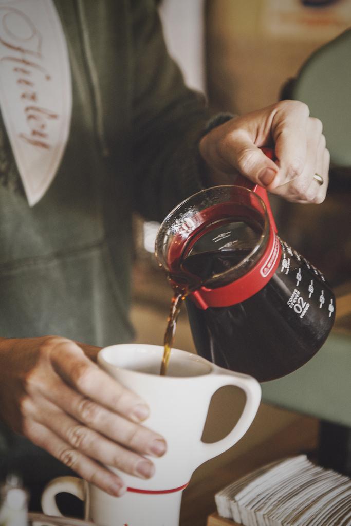 Coffee at Yogurt Fusion