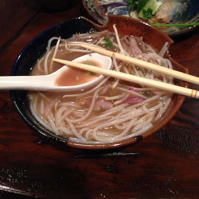 Michelle Bradley's homemade pho made us feel bad about our dinner.