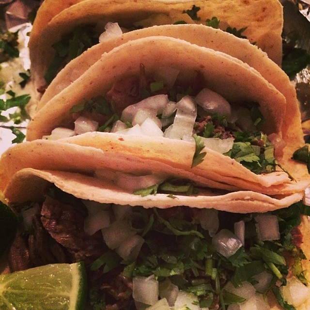 ...and here it is, your requisite #WDDI taco photo of the week. This week's is on us. If this is making your mouth water right now, stop by La Sabrocita on Dallas Dr. at lunch today.