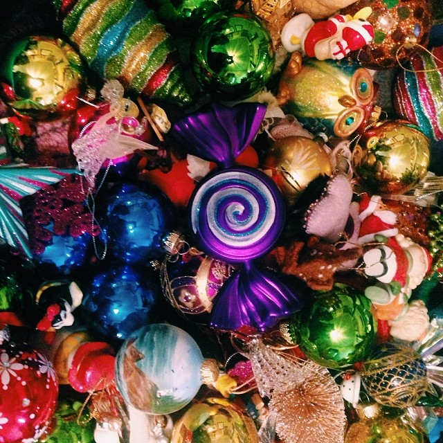 Now that it's February, if you still have Christmas stuff, you're overdue. Photo by  Shaina Sheaff.