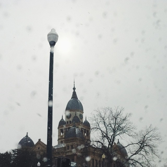 More snow, y'all. Supposed to have it again this week. Y'all want more? Photo by  Katie Grant .