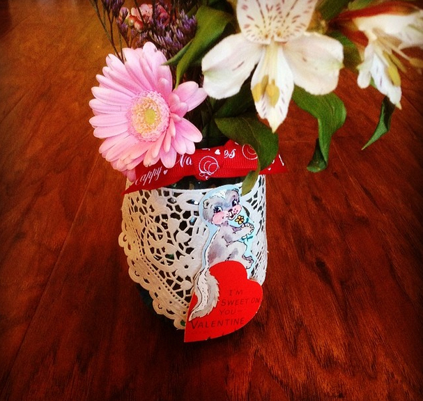The DIME Store even had flowers ready to pair with your locally sourced gift. Photo by  @mkernan .