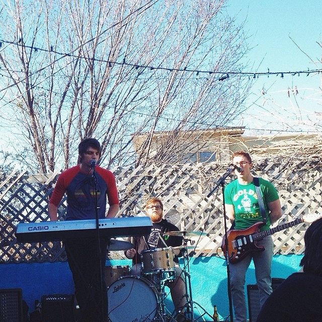 Dan's Patio is the best in the spring. Savage and the Big Beat make it even better. Photo by Paige Gibson.