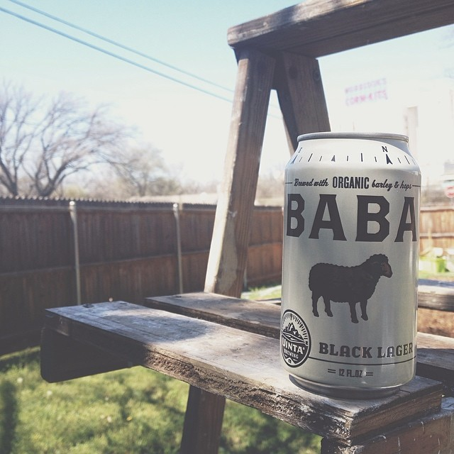 We agree with @jadewintersee that the branding on this beer and the amazing weather are an ideal way to kick off a spring weekend.
