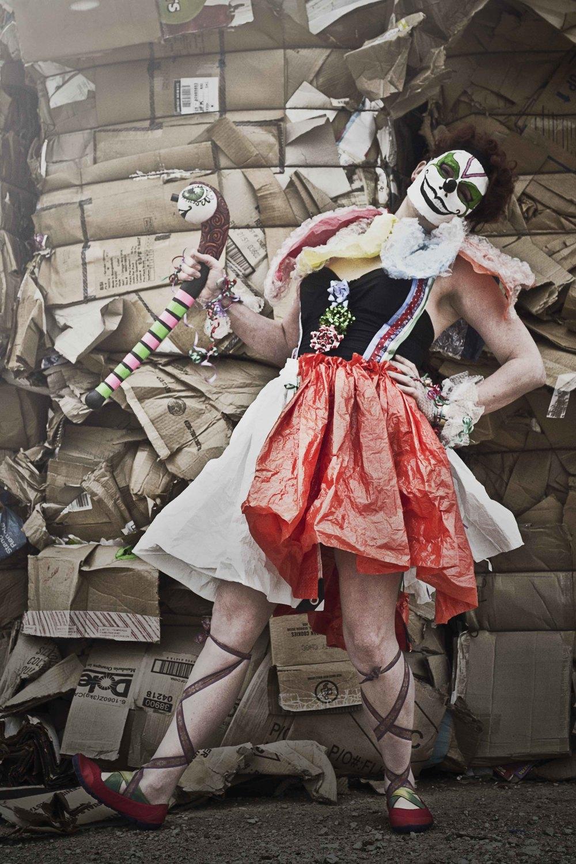 Model/Designer: Angela Rawlings  Photographer: Lexi Drake