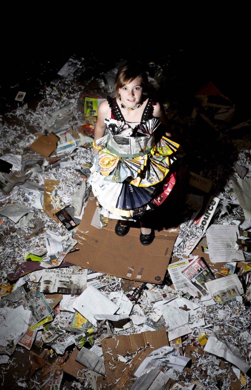 Photographer: Cynthia Pantaleon, Model/Designer: Megan Gibson