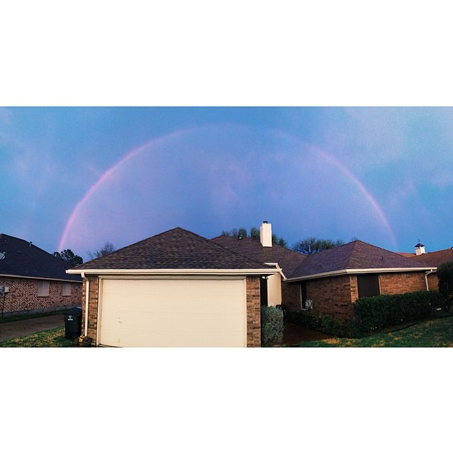 Y'all sick of these rainbows yet? Photo by  Darby McFall.