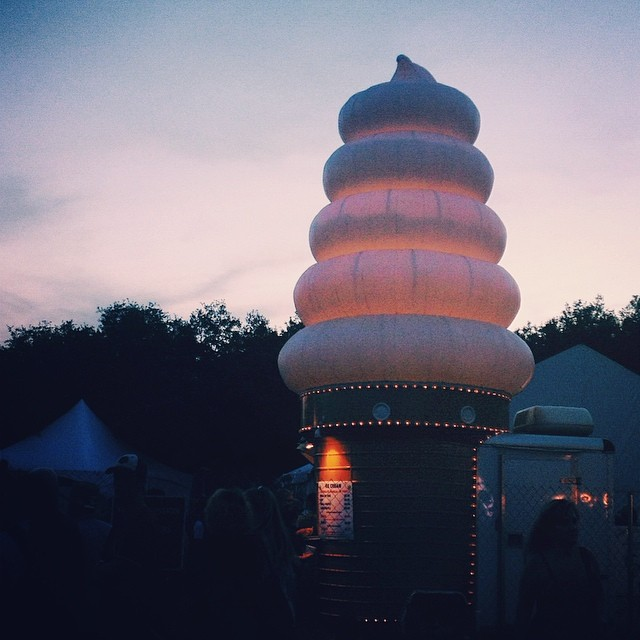 Quite possibly the best landmark in the fest. Photo by  Paige Gibson .