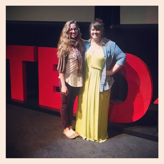 @1000countsheets  was super proud of the fibers department at the TEDxUNT talks.