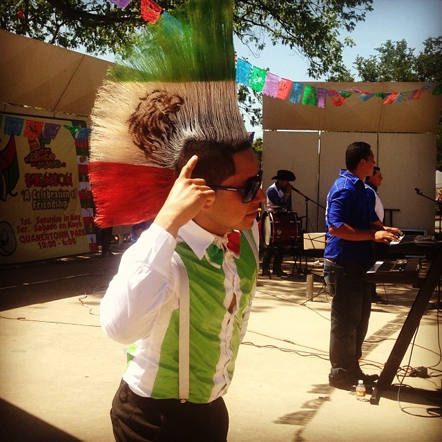The Denton Cinco de Mayo festival/parade often gets overlooked in the shadow of Arts and Jazz fest, but it really is a hell of a good time. Photo by @veronica_n_denton.