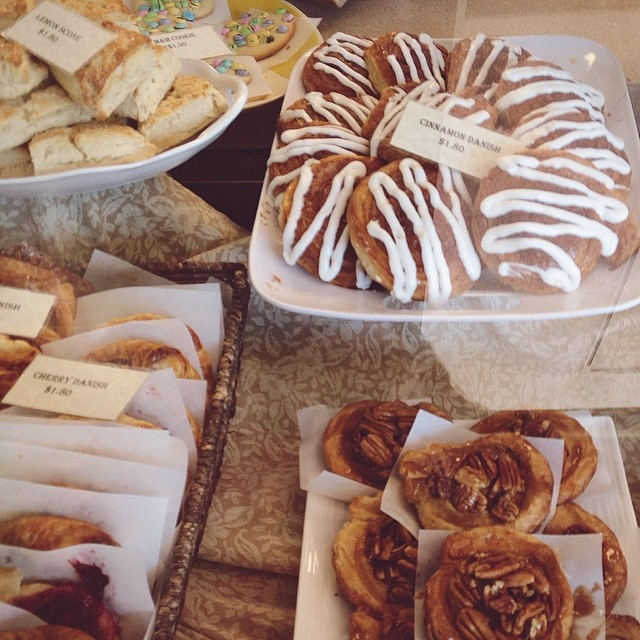 @hollyintexas knows the best baked goods are happening at Ravelin bakery. We support her choice in quality french pastry.