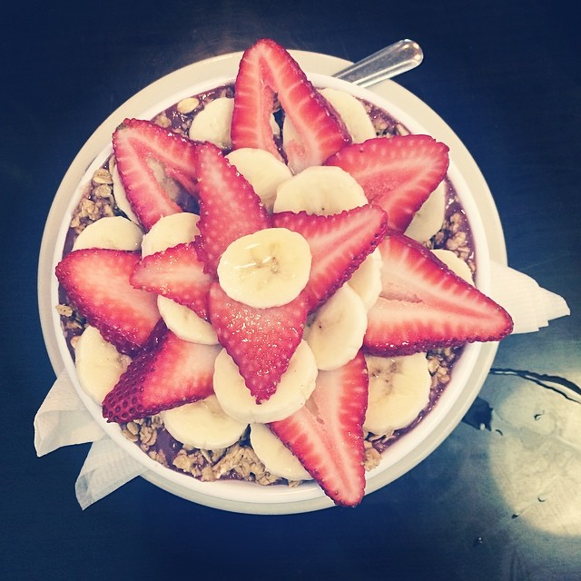 @ liz.king  tried the acai bowl from Seven Mile Cafe. It's one of our favorite breakfast dishes in town!