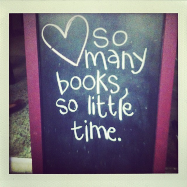 @veeveemarie  shares in the sentiment of Recycled Books.