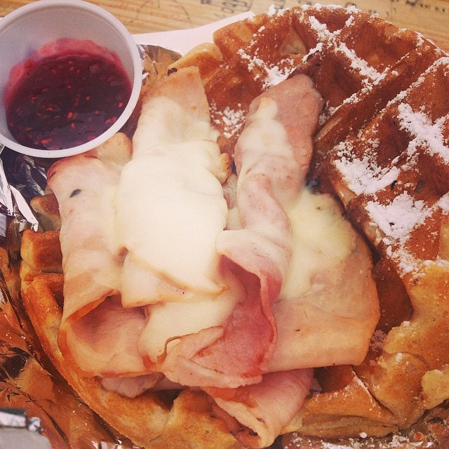 @veronica_n_denton had a tasty looking Wafffle Wagon moment.