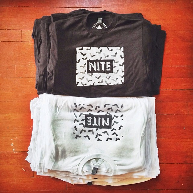 NITE, one of our favorite local bands, shirts by @sundayprintshop . Maybe new tees for the summer wardrobe?