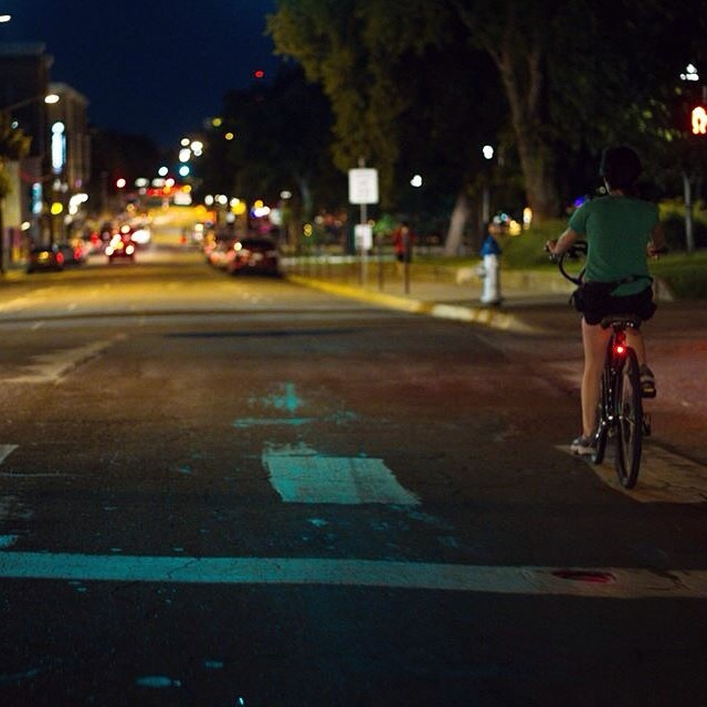Tuesday night bike ride for the win. One of our favorite Denton past times. Photo by @anthonynajera90.