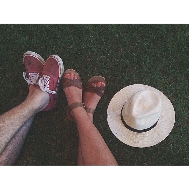 Chilling like everyone should on a lazy summer day. Photo by @TaylorBunch.