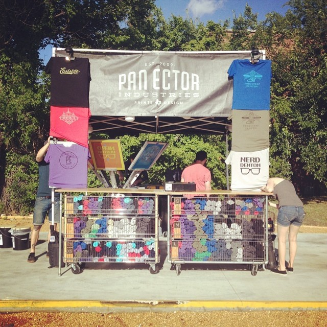The Pan Ector set up rules. T-shirt magic caught in action by @thomas_c_rodgers.