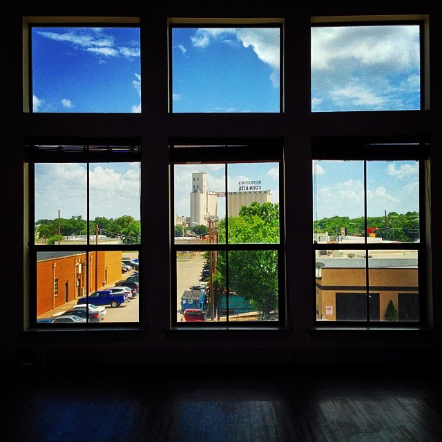 Another great view of Lil D through some windows on Hickory. This shot was snapped by @beardnbeerd.