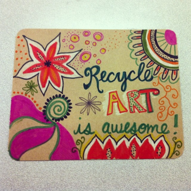 But - really, it is though. Thanks for the reminder @katiekernan. Kernan teaches art classes in the summer for kids. Check out her Facebook page for more info on upcoming classes!