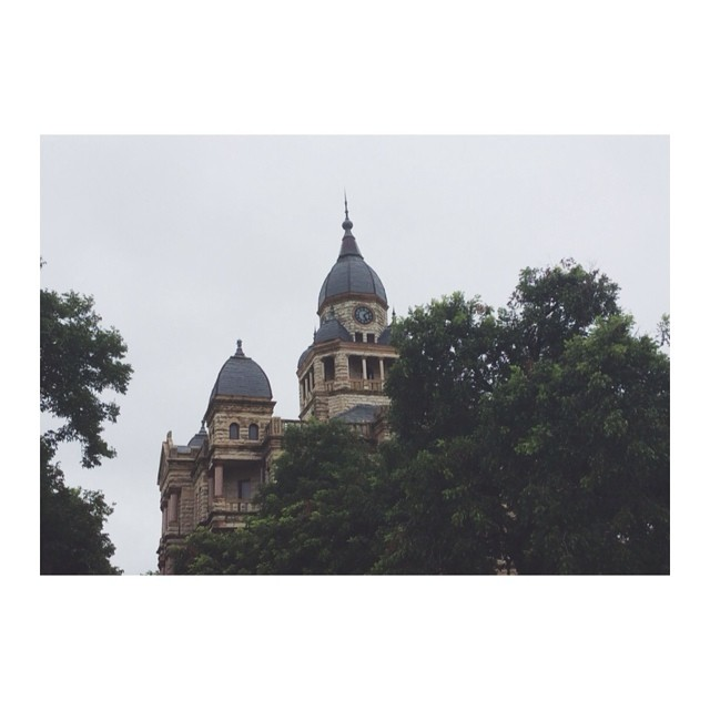 The courthouse on a rainy day. Shot by @b_meyerdirk.