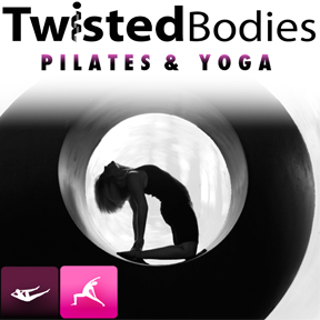 What We Did is sponsored in part by Twisted Bodies Pilates on S. Elm near Bet the House BBQ. PIlates and yoga with a twist.