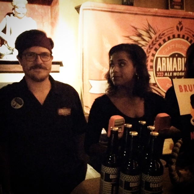 Everyone admires the brewers behind Armadillo Ale Works - even @schrader_adam!