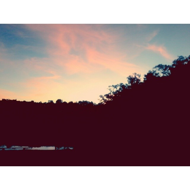 Texas summer sky.