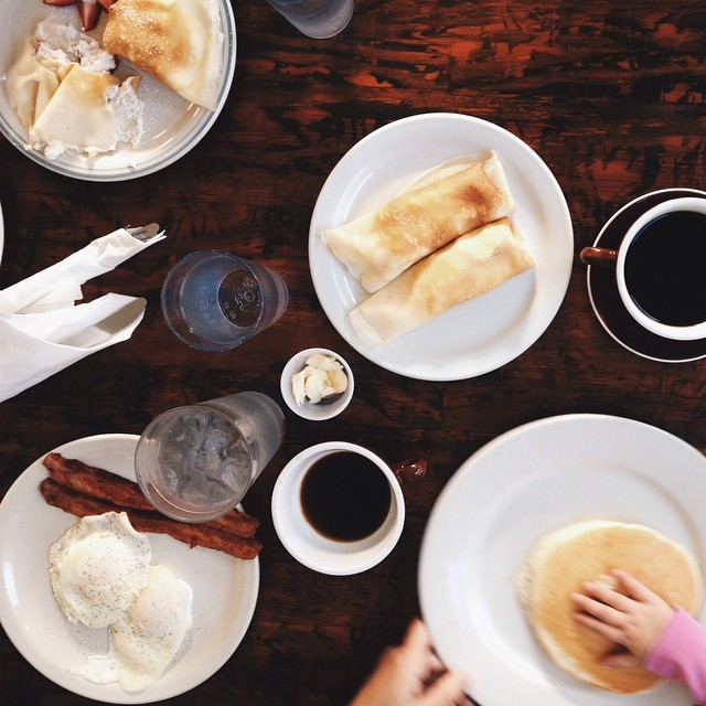 Cups and Crepes does it right with carbs big and small (and bacon...always bacon).