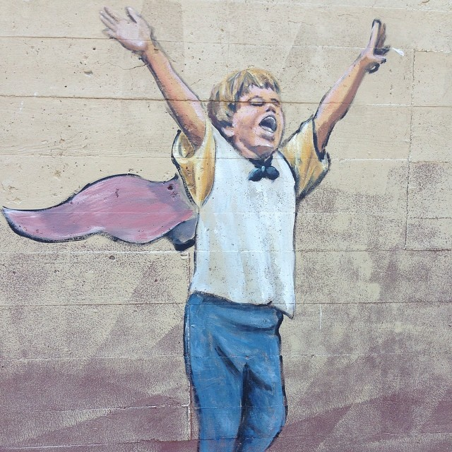 We must know where this mural is in town. Like now.