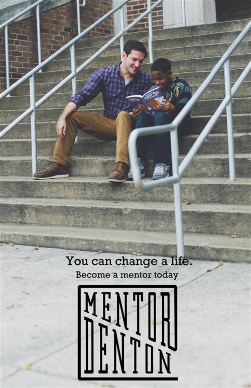 A poster for Mentor Denton