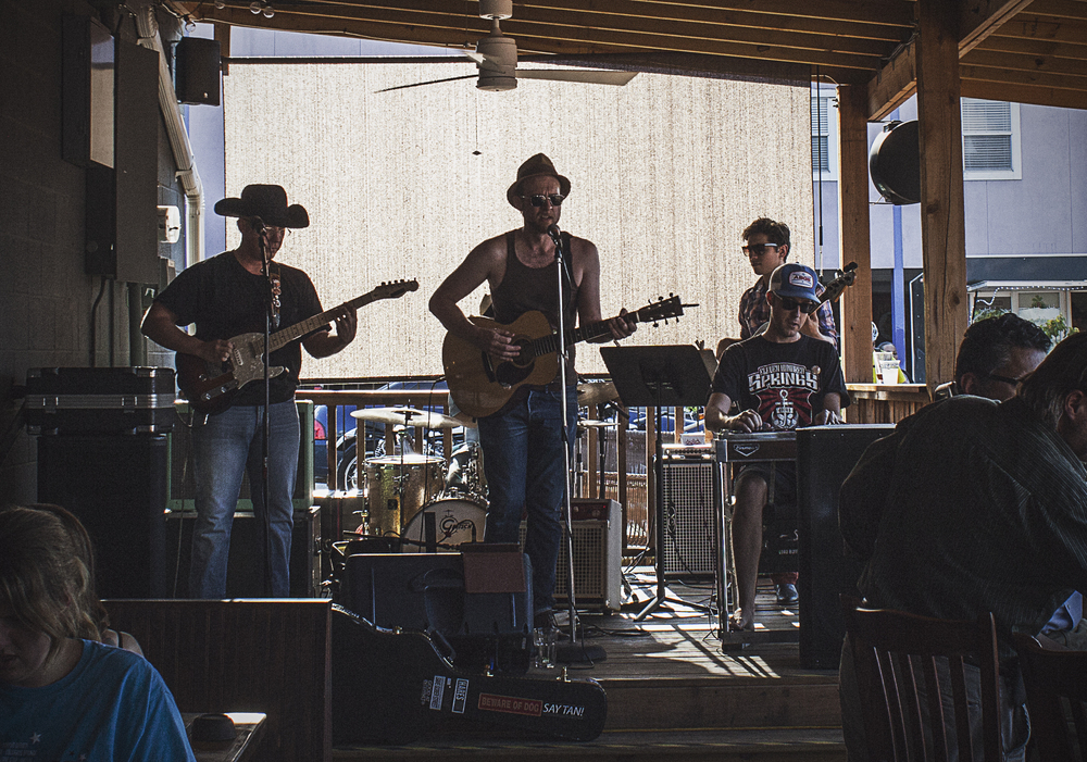 The Raised Right Men played East Side's 1 year anniversary party. Country covers plus fun beers is always a good time in our book.
