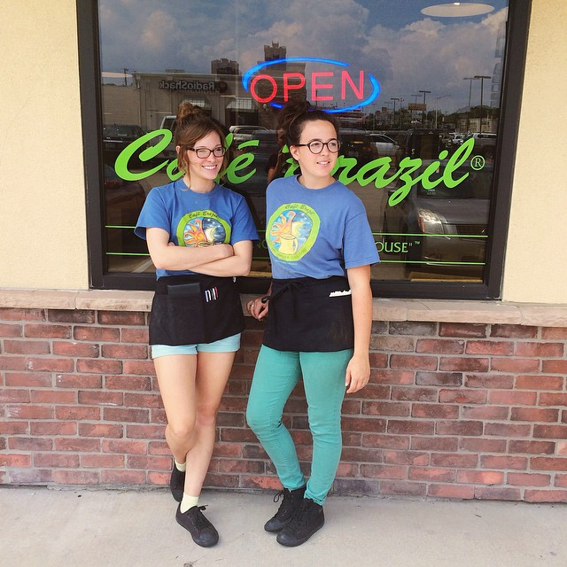 """The Girls of Cafe Brazil Denton"""