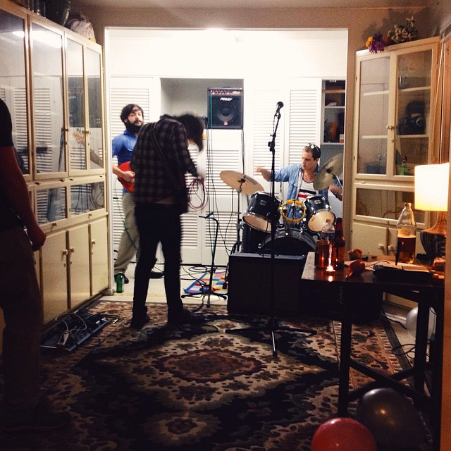 Impromptu house shows are the best house shows. Photo by @ThePaigels.