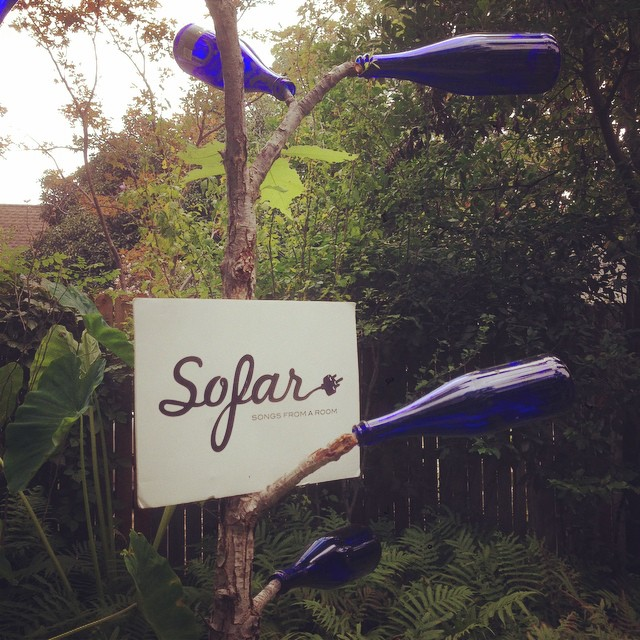 Sofar sounds held a Denton showcase this weekend. We'll have more on that soon.