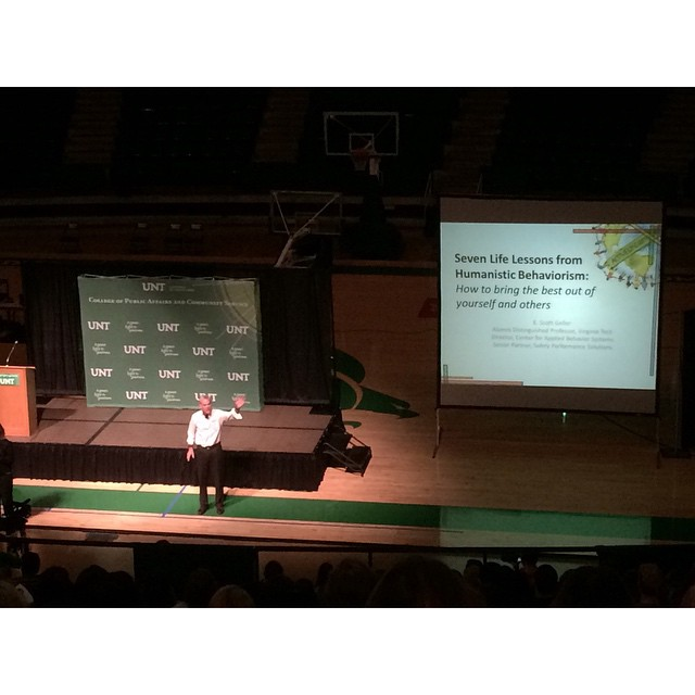 UNT PACS Fall Forum.