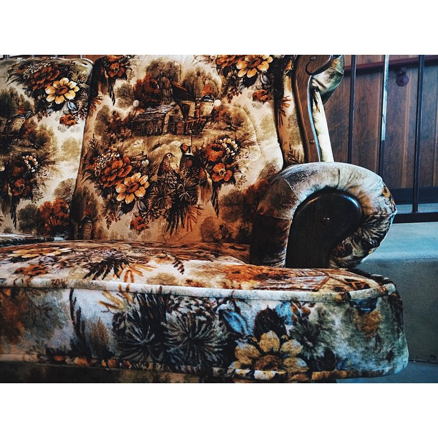 "We're getting ""Hypnotized"" by this awesome couch."