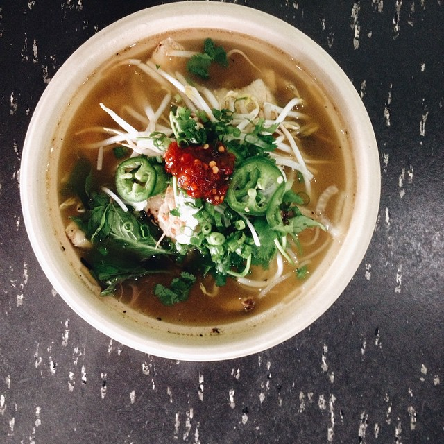 Pho at Viet Bites will warm your soul.