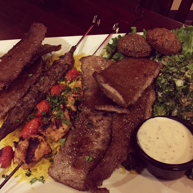 We're hearing good things about the new Beirut Mediterranean Grill in the old Royal East spot. Have y'all checked it out yet? What did you think?