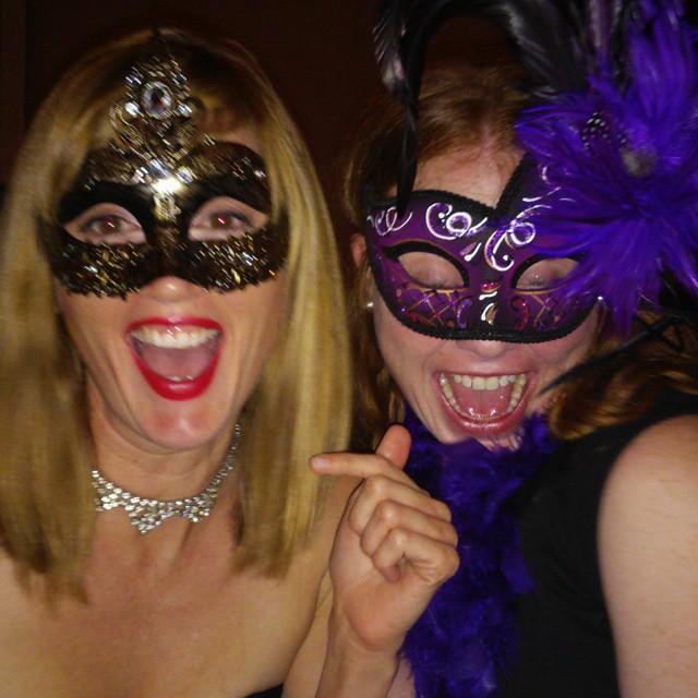 Scrap held their annual Masquerade on Saturday.