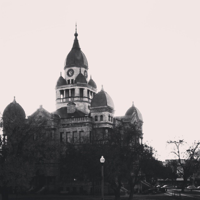 @DentonKate and some beautiful black and white courthouse action leads us off this week.