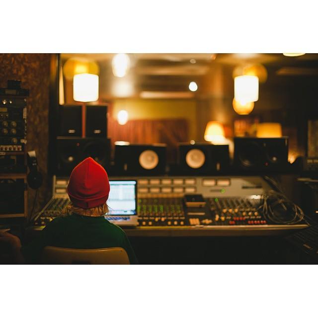 Midlake's studios with @ShainaSheaffPhoto.