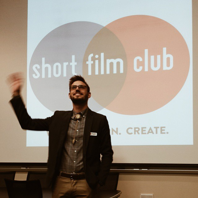 The UNT Short Film Club held this semester's screening of their awesome shorts on Saturday evening.