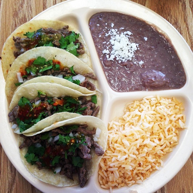 Oh, and we all ate lots of tacos, but not all were as beautifully photographed as these three from El Taco Rico shot by Shaina Sheaff.