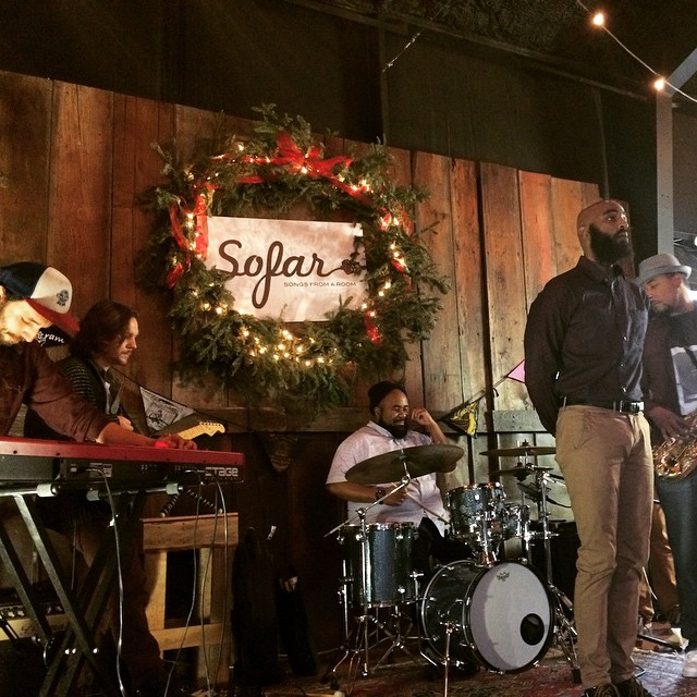 The Boombachs at SoFar Sounds at Audacity Brewhouse on Sunday evening.