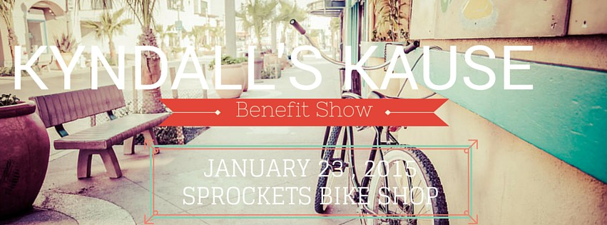 This show at Sprockets is one of the many benefit shows planned for Kyndall Ramsey.