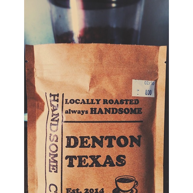 Have y'all grabbed a bag of Handsome Coffee yet? You can get one in Recycled Books.